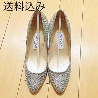 ジミーチュウ(JIMMY CHOO)の美品Jimmy Choo 靴 38.5 (ハイヒール/パンプス)