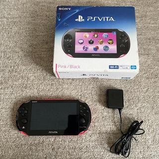 プレイステーション(PlayStation)のPS vita 2000 即購入OK!(携帯用ゲーム機本体)