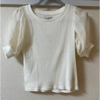 ダズリン(dazzlin)の【新品未使用タグ付き】dazzlin ニットTシャツ(Tシャツ/カットソー(半袖/袖なし))