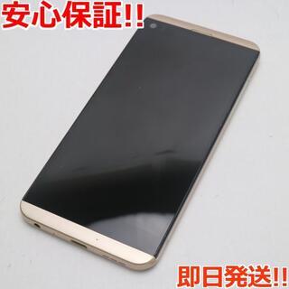 エルジーエレクトロニクス(LG Electronics)の美品 au LGV34 isai Beat ゴールド (スマートフォン本体)