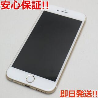 アイフォーン(iPhone)の新品同様 SIMフリー iPhone6S 32GB ゴールド (スマートフォン本体)