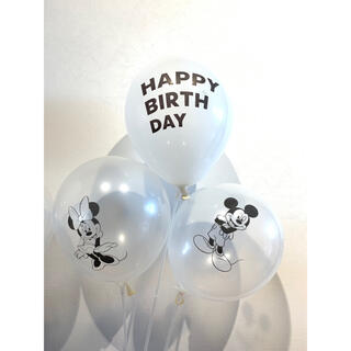 誕生日 バースデー バルーン 風船 ディズニー ミッキー ミニー(その他)