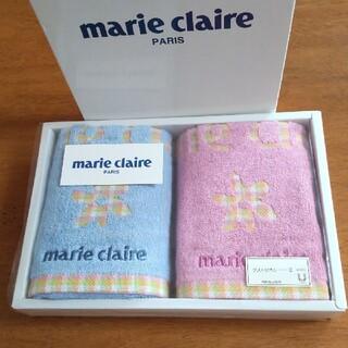 マリクレール(Marie Claire)のmarie claire ゲストタオル 34cm×35.5cm 2枚組(タオル/バス用品)