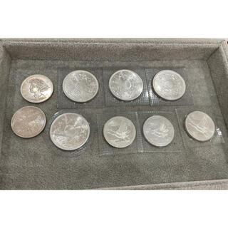 570 御在位六十年 壱万円硬貨 パック入り 銀貨 旧硬貨 5000円硬貨 (貨幣)