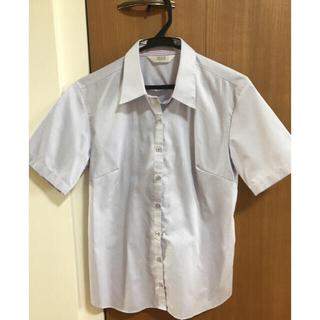 アオキ(AOKI)の女性半袖ワイシャツ(シャツ/ブラウス(半袖/袖なし))