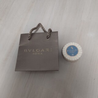 BVLGARI - ブルガリ せっけん 試供品 サンプル プレゼント