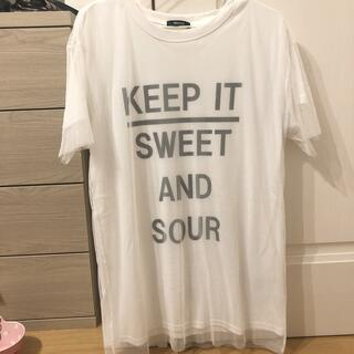 白 Tシャツ(Tシャツ(半袖/袖なし))