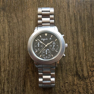 アニエスベー(agnes b.)のagnes b. chronograph 腕時計(腕時計)