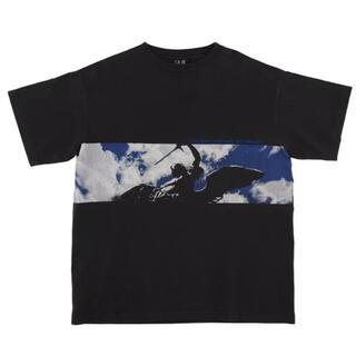 レディメイド(LADY MADE)のSAINT MICHAEL SS TEE SKY / BLK(Tシャツ/カットソー(半袖/袖なし))