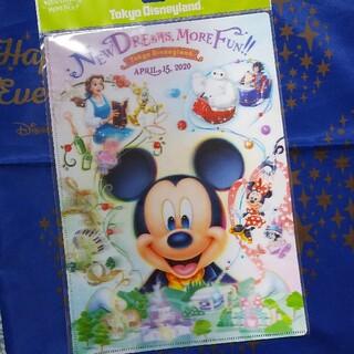ディズニー(Disney)のディズニー★新エリア★ミッキー★クリアホルダー(クリアファイル)