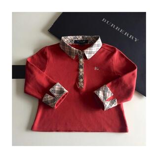 バーバリー(BURBERRY)のBURBERRY CHILDREN⭐チェックシャツ ポロシャツ 長袖シャツ(ブラウス)