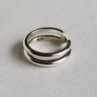 イエナ(IENA)のsilver925 スターリングシルバー ピンキーリング R2056(リング(指輪))