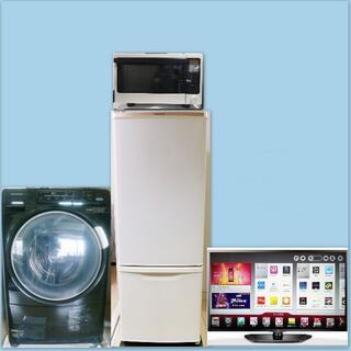 2ランク上の家電4点セット、動作保証・設置・動作確認いたします。(洗濯機)