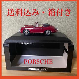 ポルシェ(Porsche)の【箱付き】ミニカー ポルシェ 356 赤(ミニカー)