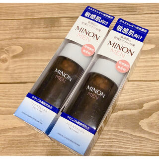 ミノン(MINON)の✨新品未開封✨ミノン メン フェイスウォッシュ 150mL×2本(洗顔料)