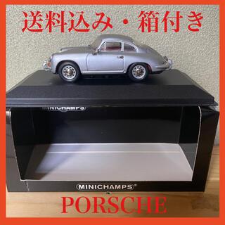 ポルシェ(Porsche)の【箱付き】ミニカー ポルシェ シルバー(ミニカー)