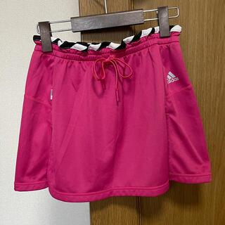 アディダス(adidas)のアディダス ランニングスカート ピンク紫 S(ウェア)