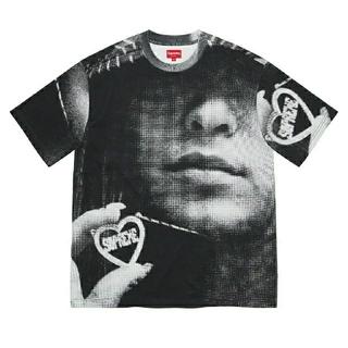 シュプリーム(Supreme)のSupreme Kim Necklace S/S TopM ブラック(Tシャツ/カットソー(半袖/袖なし))