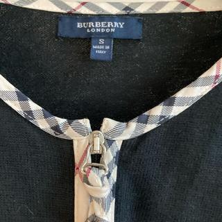 バーバリー(BURBERRY)の【専用です】Burberryカーディガン レディースS(カーディガン)