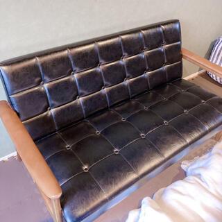 カリモクカグ(カリモク家具)のカリモク 復刻版限定品 Kチェア(二人掛けソファ)