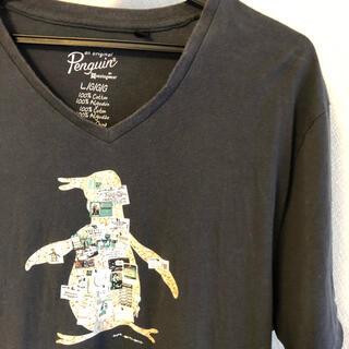 マンシングウェア(Munsingwear)のMunsingwear  ロゴTシャツ         サイズ L(Tシャツ/カットソー(半袖/袖なし))