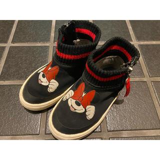 ザラ(ZARA)のZARA ミニー 靴 ハイカット(スニーカー)