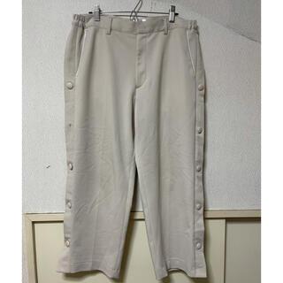 ピースマイナスワン(PEACEMINUSONE)のcruffin Side Snap Button Crop Wide Pants(スラックス)