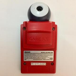 ゲームボーイ(ゲームボーイ)のGB ポケットカメラ レッド 中古(携帯用ゲームソフト)