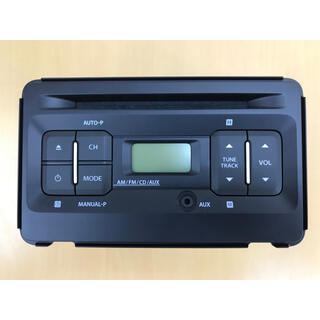 スズキ(スズキ)の【スズキ純正】CDプレーヤー AM/FMラジオ付き(カーオーディオ)