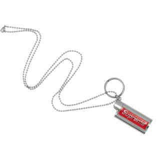 シュプリーム(Supreme)の新品 Supreme Metal Lighter Holster Silver(ネックレス)