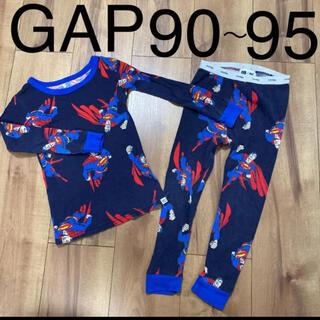 ベビーギャップ(babyGAP)のGAPBaby ギャップ 男の子 パジャマ 長袖長ズボン90 95 スーパーマン(パジャマ)