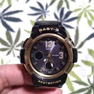 ベビージー(Baby-G)の電波ソーラー 腕時計 CASIO Baby-G bga-2100 ブラック(腕時計)