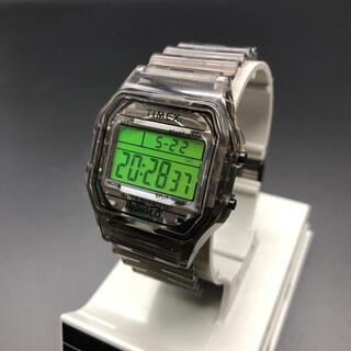 タイメックス(TIMEX)の即決 TIMEX × BEAMS 腕時計 スケルトン ブラック(腕時計(デジタル))
