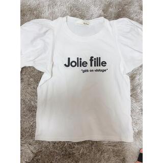 リリーブラウン(Lily Brown)のlilybrown Tシャツ(Tシャツ(半袖/袖なし))