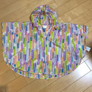 キウ(KiU)のkiu レインコート サイズS 80、90、100(傘)