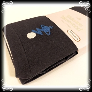 ヴィヴィアンウエストウッド(Vivienne Westwood)の⑤新品 ヴィヴィアンウエストウッド レギンス 日本製 10分丈 Vivienne(レギンス/スパッツ)