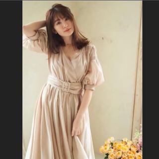 スナイデル(snidel)の【新品未使用 】Airy Volume Sleeve Dress(ロングワンピース/マキシワンピース)