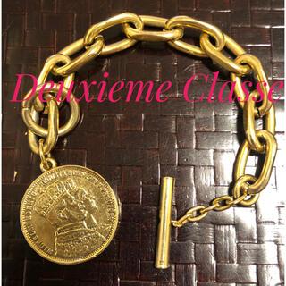 ドゥーズィエムクラス(DEUXIEME CLASSE)のドゥーズィエムクラス購入 コイン チェーン ブレスレット(ブレスレット/バングル)