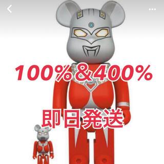 メディコムトイ(MEDICOM TOY)のBE@RBRICK ウルトラマンタロウ 100% & 400% ベアブリック(キャラクターグッズ)