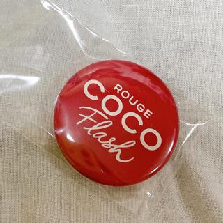 シャネル(CHANEL)のCHANEL ROUGE COCO Flash 缶バッジ(バッジ/ピンバッジ)