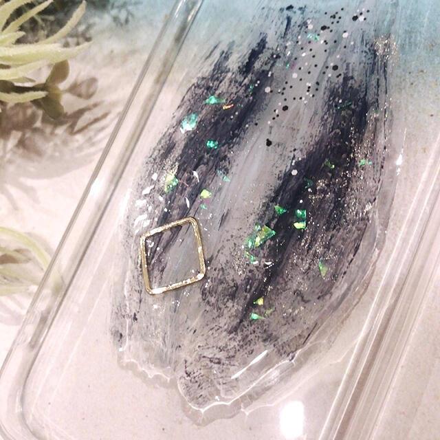 """ZARA(ザラ)の【""""O""""case.】ニュアンス iPhoneケース m-46【7/8/SE2】 スマホ/家電/カメラのスマホアクセサリー(iPhoneケース)の商品写真"""