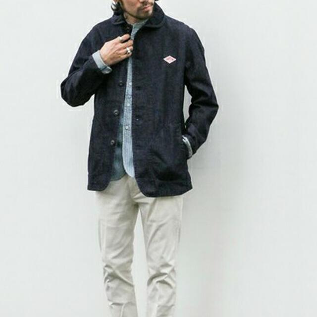 DANTON(ダントン)の別注デニムカバーオール/DANTON メンズのジャケット/アウター(カバーオール)の商品写真