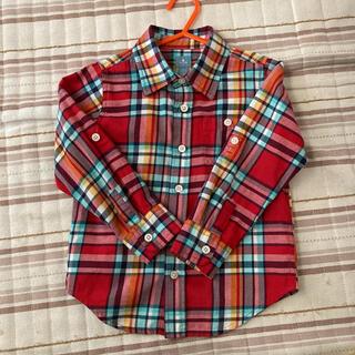 ベビーギャップ(babyGAP)のギャップ チェックシャツ 110㎝ (ブラウス)
