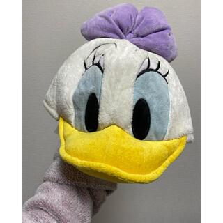 ディズニー(Disney)のディズニー デイジー ファンキャップ 帽子(キャラクターグッズ)