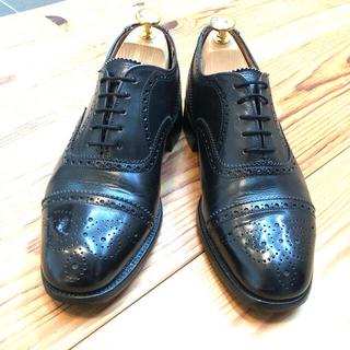 Crockett&Jones - 【SHETLANDFOX】セミブローグ ドレスシューズ 靴