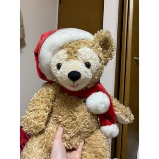 ディズニー(Disney)のディズニー ダッフィー クリスマス ぬいぐるみ オープンマウス 2007年(キャラクターグッズ)