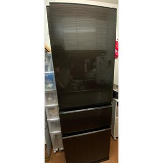 ミツビシデンキ(三菱電機)の三菱 365L 冷凍冷蔵庫 2023年10月14日まで保証あり(冷蔵庫)