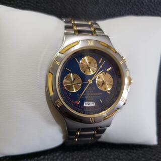 アルバ(ALBA)のセイコー ALBA カリブ CARIB アラームクロノグラフ 腕時計(腕時計(アナログ))