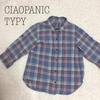 チャオパニックティピー(CIAOPANIC TYPY)のチャオパニックティピー薄手チェックシャツ(ブラウス)