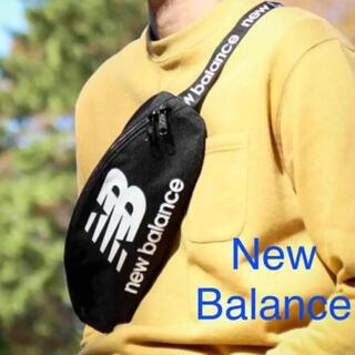 ニューバランス(New Balance)の新品 ニューバランス ボディバッグ ショルダーバッグ ウエストバッグ ブラック(ショルダーバッグ)